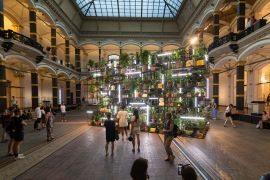 Lichthof des Gropius Bau für die Lange Nacht der Museen 2019